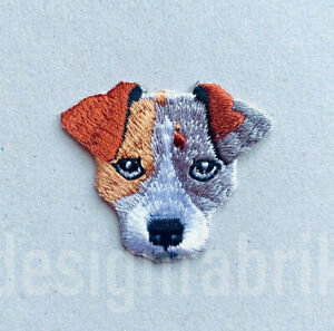 Patch Hund Fox Terrier Jack Russell Dog Aufbugeln Bugel Bild Nahen Applikation Ebay