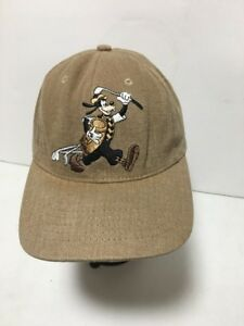 Image is loading Goofy-Golfer-Ball-Cap-Beige-One-Size-Adjustable- 3c6b99a13b8