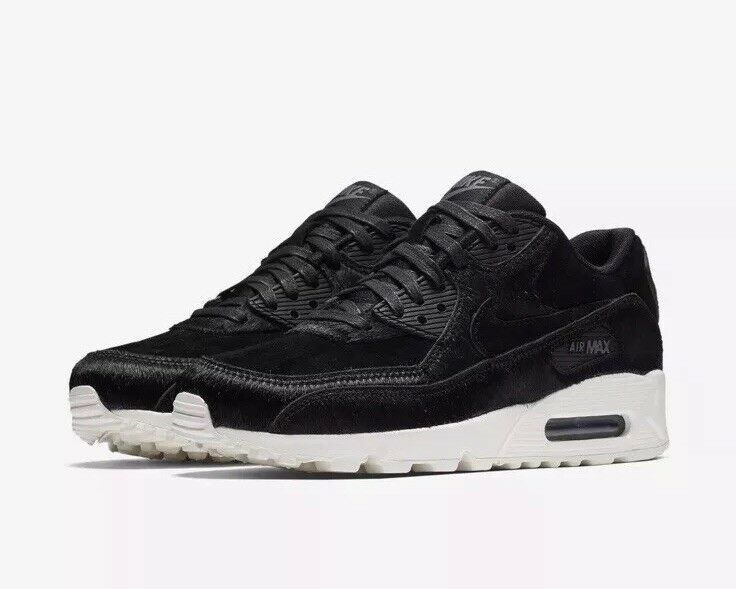 NEW Sz 6.5 Women's Air Max 90 LX Running shoes Black Grey 898512-006