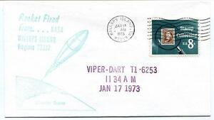 1973 Wallops Island Rocket Fired Viper Dart T1.6253 Wff Goddard Base Nasa MatéRiaux Soigneusement SéLectionnéS