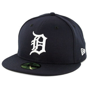 timeless design d7c68 101c2 Image is loading New-Era-59Fifty-Detroit-Tigers-HOME-Fitted-Hat-