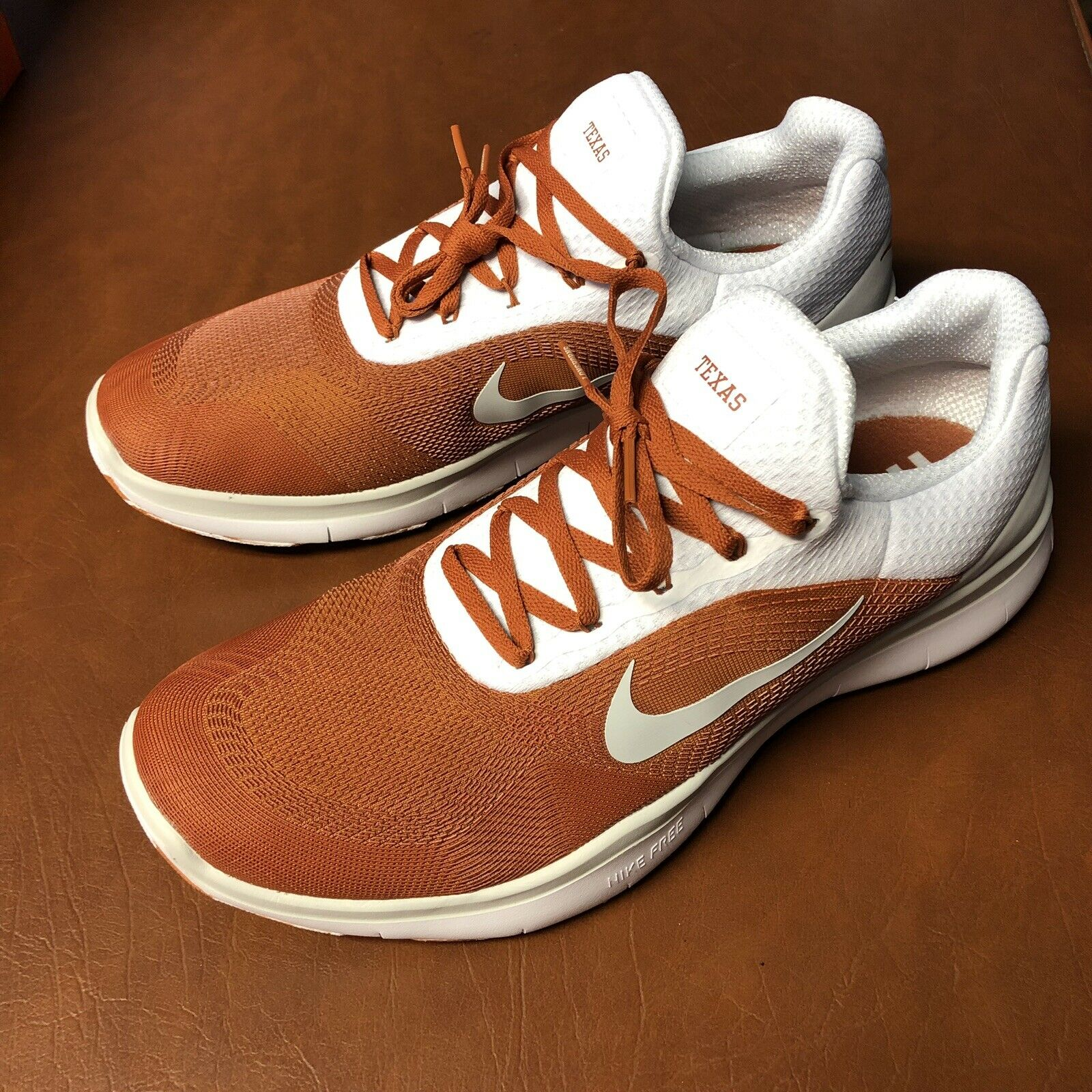 Nike Texas Longhorns Free Trainer V7 Week Zero shoes AA0881-800 Size 12
