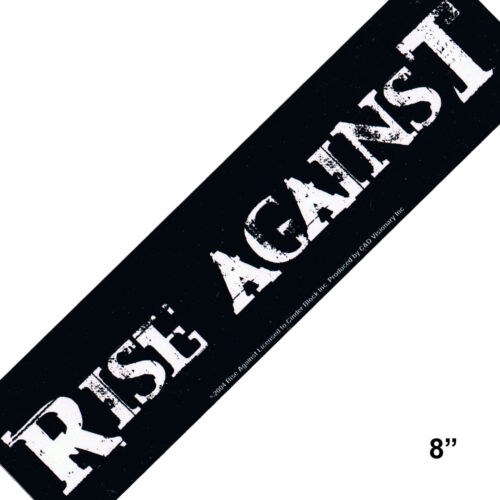 STICKER Rise Against Punk Rock Music Decal  SA38