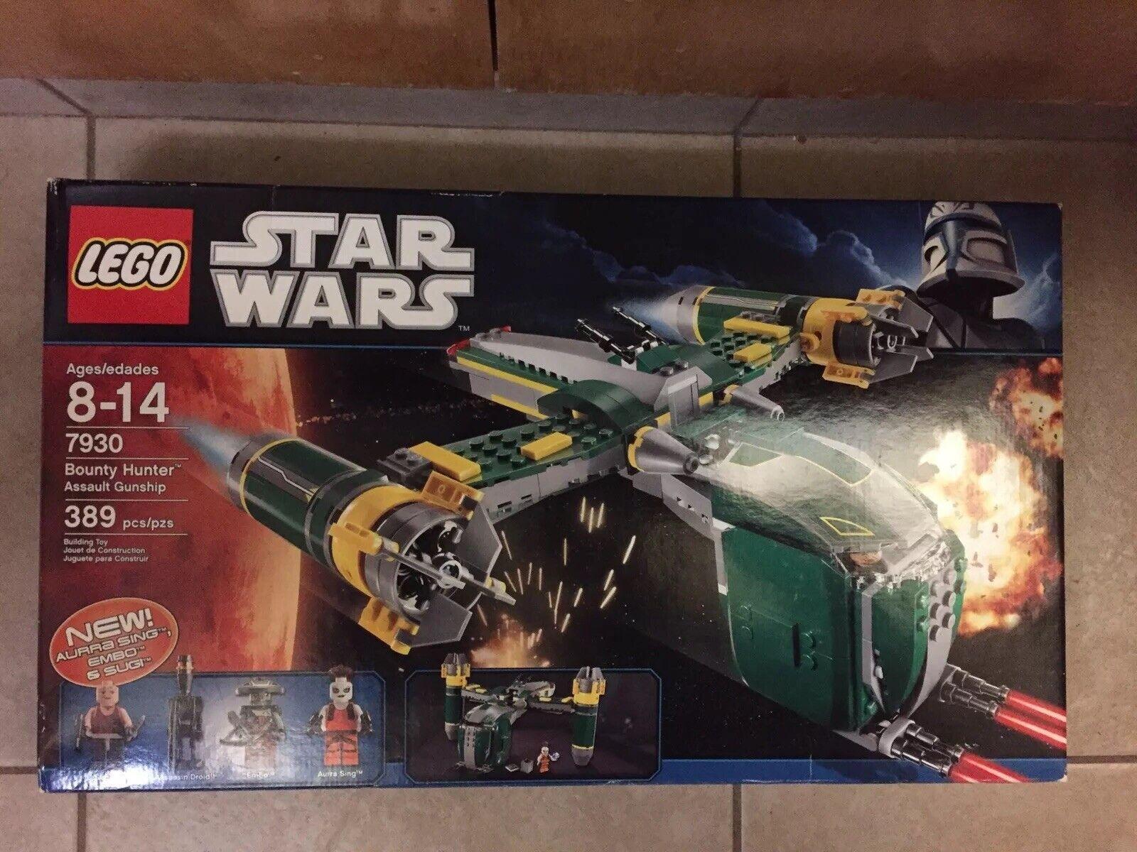 La nueva fábrica Sella, Lego Estrella Estrella Estrella Wars 7930, Cazarrecompensas a la cañonera. dbe