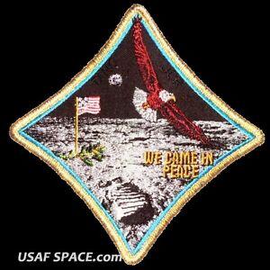 Apollo-11-Spirit-Commemorative-5-034-Tim-Gagnon-ORIGINAL-AB-Emblem-NASA-SPACE-PATCH