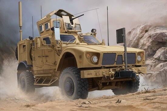 US M-atv Mrap Vehicle 1 16 Plastic Model Kit TRUMPETER