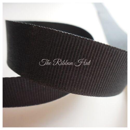Grosgrain Ribbon-16mm-Berisfords-Solid Colours-1M//3M Cut Lengths-Craft,Trim