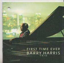 BARRY HARRIS TRIO  CD  JAPON  FIRST TIME EVER