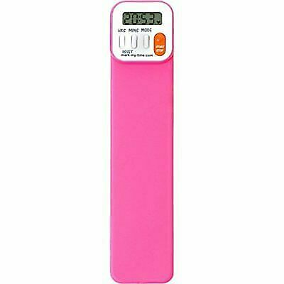 Mark My Time Digital Bookmark Fuchsia Reading Timer Durable For Sale Online Ebay