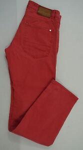 MARC-O-039-POLO-Herren-Jeans-Mod-FALUN-Baumwolle-rot-Gr-32-slim-fit-wie-Neu