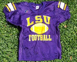 30cceec6b Image is loading Vintage-LSU-Louisiana-State-University-Tigers-jersey-Sz-