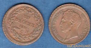 Monaco-Un-Decime-Honore-V-grosse-tete-1838-MC-TTB-4