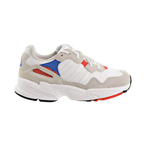 Details about Adidas Yung 96 J Big Kids Shoes Cloud White Crystal White Active Red F35271