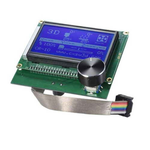 LCD Display Screen Controller Replacement Panel For Creality CR-10 3D Printer