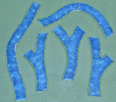 wargames RIVER & junctions No2 6mm 10mm FOW FOG warhammer handmade by FAT FRANK