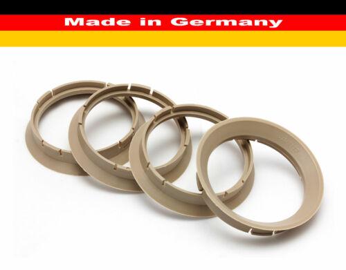 4x anelli di centraggio Ø 64-57 mm Alloytec ICW Borbet RH ALURAD per cerchi in lega