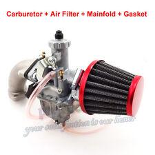 26mm Mikuni VM22 Carburetor Intake Pipe Air Filter For Dirt Bike 110 125 140 cc
