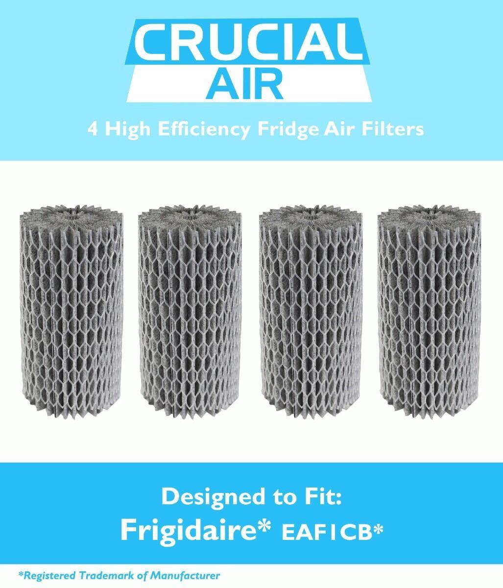 4 Replacements Frigidaire EAF1CB Pure Advantage Fridges Air Filters