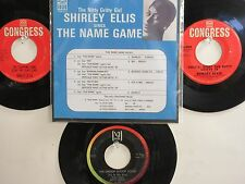 LOT OF 4 ' SHIRLEY ELLIS/BETTY EVERETT ' HIT 45's+1P(Copy)[The Name Game]  60's!