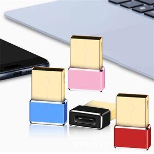 USB-3-0-Stecker-Typ-A-maennlichen-und-USB3-1-Typ-C-Buchse-Konverter-Adapter