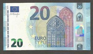 "European Union (France), 20 Euro 2015, UNC; P-22u, L-B110u3; Draghi; ""UF""; U003"