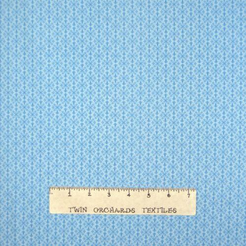 Small Snowflake Medallion Blue Timeless Treasures YARD Christmas Fabric
