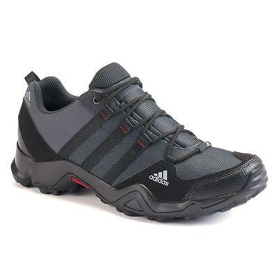 NIB Men's New Adidas AX2 Hiking Swift Trail Shoes KAQ6449 Terrex Gray/Black | eBay