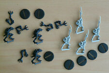 SPACE CRUSADE LOT 6 figurines ANDROÏDE/GENESTEALER TBE GAMES WORKSHOP 1990 /SC03