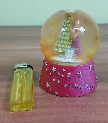 FleißIg Weihnachtliche Schneekugel Sternkugel Weihnachtsbaum Engel Geschenke H=8,5cm