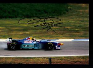 Heinz-Harald-Frentzen-Foto-Original-Signiert-Formel-1-G-18578