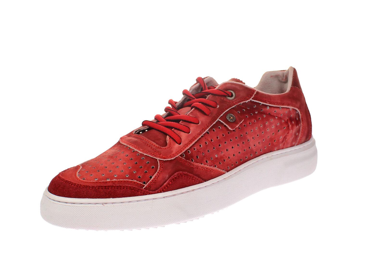 Coxx borba mrochedo 101.07 - zapatos caballero zapatos casual-rojo