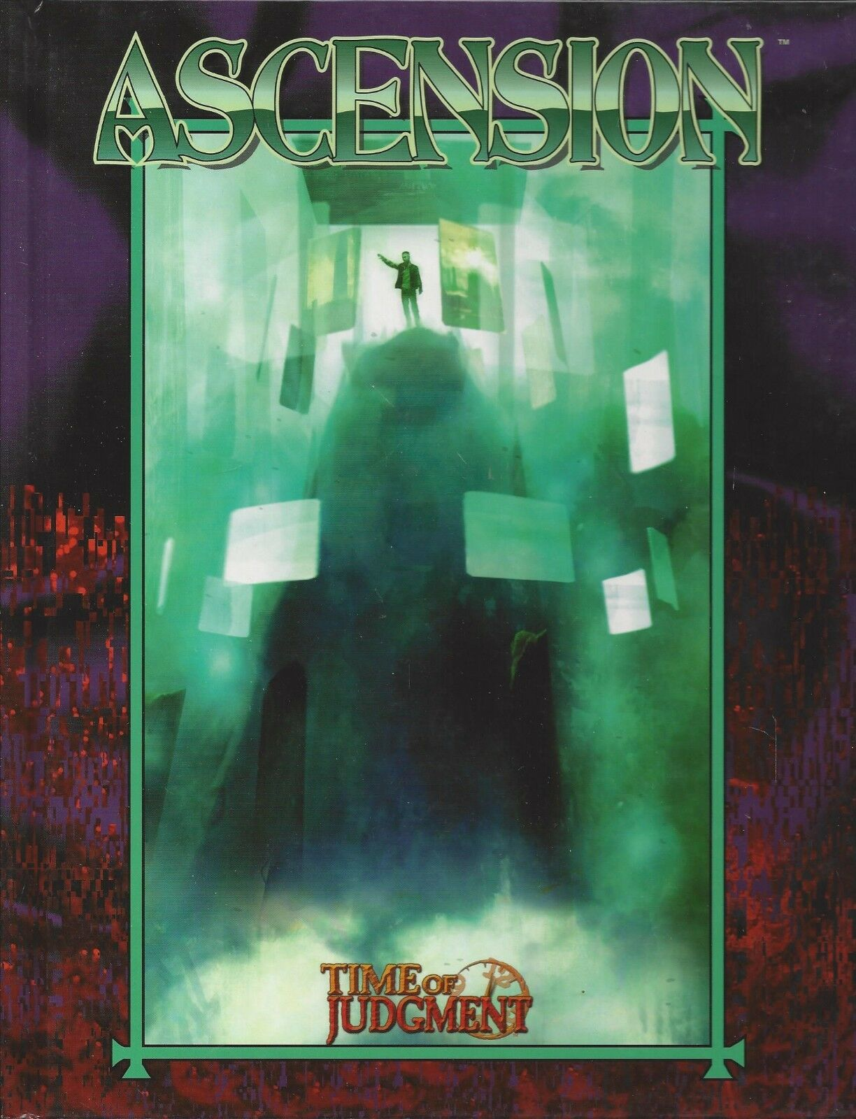 Mage The Ascension RPG Ascension HC NEW  OOP  White Wolf  WW 4999