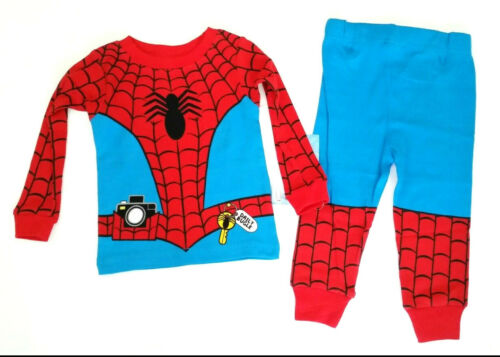 18 Mo Marvel Spider-Man Far From Home Costume Pajama Sleep Comfort Top Pants