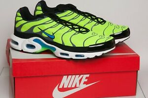 Details about Men's Nike Tuned 1 Air Max Plus TN Volt Green Trainers UK10 New & Boxed FreePost