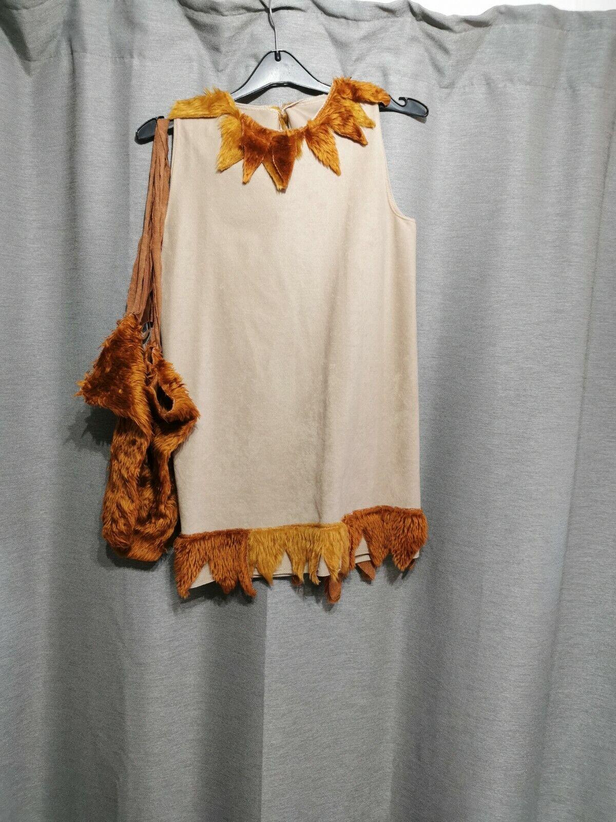F29 handmade girls apache Indian fancy dress costume top/dress 28