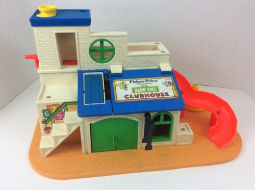 VINTAGE 1976 FISHER PRICE Sesame Street Club House