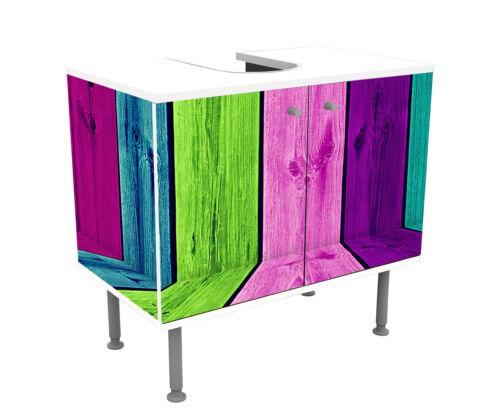 Badunterschrank Mehrfarbiger hölzerner Raum Designschrank Bad Unterschränke