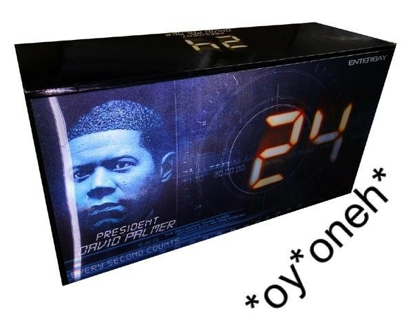 1 6 ENTERBAY 24 H Président David PALMER (Dennis Haysbert) 12  Action Figure