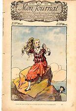 MON JOURNAL NUMERO 46  DU 15 NOVEMBRE 1919 INTROUVABLE !!!!!!