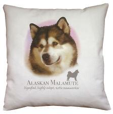 Alaskan Malamute   Quality 100% Cotton Cushion Cover with Zip   Howard Robinson