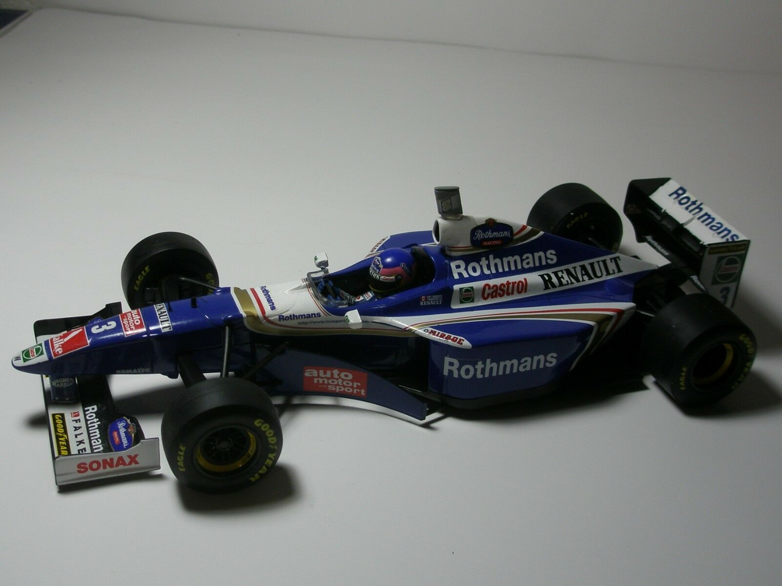 1 18 F1 WILLIAMS 1997 1997 1997 - JACQUES VILLENEUVE WORLD CHAMPION TOBACCO LIVERY 24757b