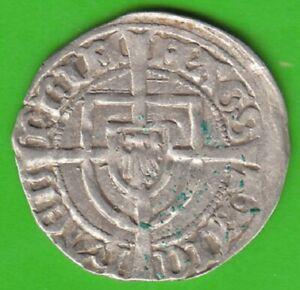 Deutscher-Medal-Schilling-1414-1422-Type-Langkreuz-IN-Vf-Xf-Nice-nswleipzig