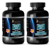 High Blood Pressure Water Pills Natural Diuretic Fat Burner 2 B, 120 Capsules