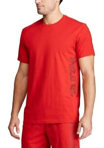 BNEW-Polo-Ralph-Lauren-Short-Sleeve-Crew-Mens-T-Shirt-Red-Small