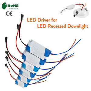 Miraculous Led Driver 1W To 24W Ac To Dc Power For Led Recessed Ceiling Wiring Cloud Venetbieswglorg