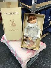 Zapf Puppe Nina will ins Bett 42 cm. Mit Karton & Zertifikat. Nie Ausgepackt