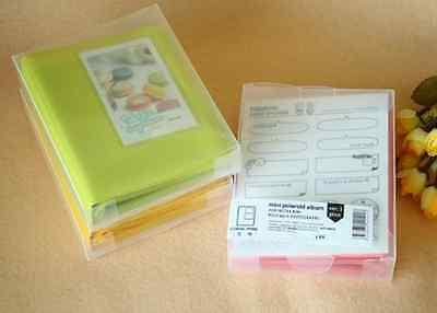 100% New Mini Name Card Photo Album Case For Fuji Instax Mini 7s 8 25 50s 90 Yun