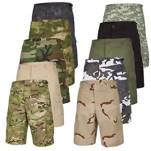 100% Wahr Urbandreamz Herren Us Army Ranger Bermuda Cargo Shorts Cargohose Camouflage