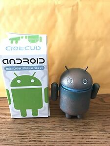Super Rare Figurine Android Mini Collection Série 1    Andrew Bell  rusty