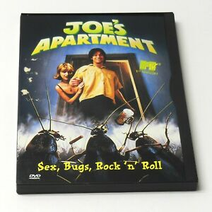 JOE'S APARTMENT 1996 DVD RARE OOP TESTED 90's MTV New York ...